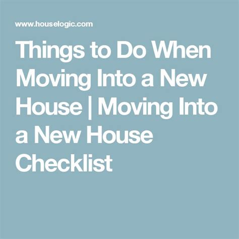 moving into house checklist 1000 ideas about home checklist on