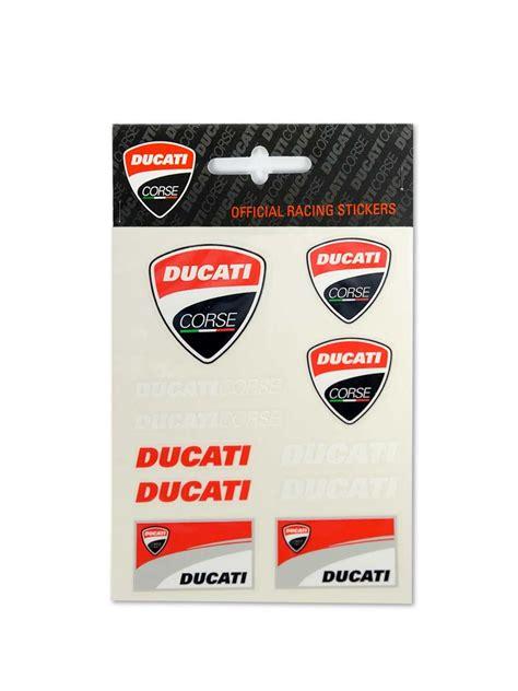 Ducati Aufkleber Logo by Motogp Apparel Ducati Ducati Kleinsticker Aufkleber