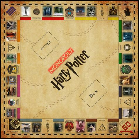 harry potter printable board games unavailable listing on etsy