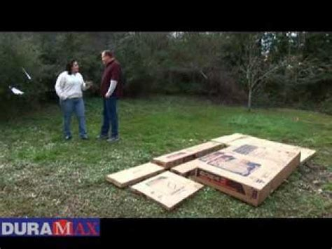duramax storage shed assembly youtube