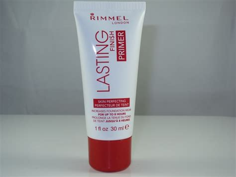 rimmel lasting finish primer review swatches