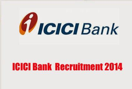 In Icici Bank For Mba Freshers by Icici Bank Recruitment 2014 For Branch Manager Deputy