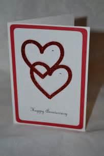 handmade anniversary card cards