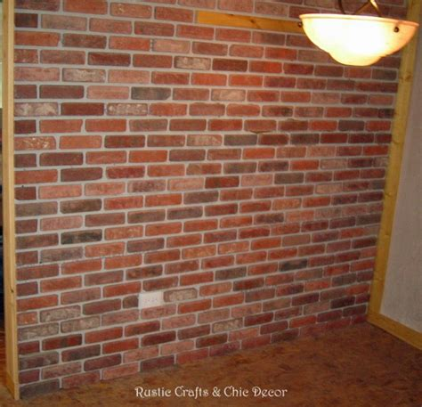 how to install a brick wall in the interior of your home