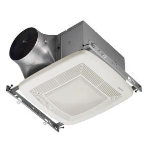 home depot bathroom fan light broan ultra green 110 cfm ceiling bathroom exhaust fan