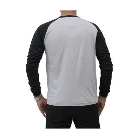 Kaos Raglan The Adventure kaos polos putih lengan panjang depan belakang the t shirt