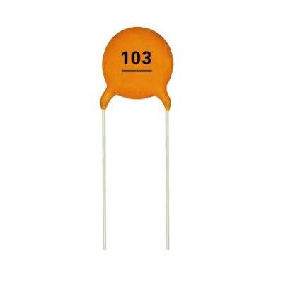 0 01 uf multilayer ceramic disc capacitor 103 ct4 0805y103m500