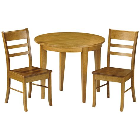 Dining Table With Two Chairs Honey Pine Finish Extending Extendable Dining Table And Chair Set With 2 Seats Ebay