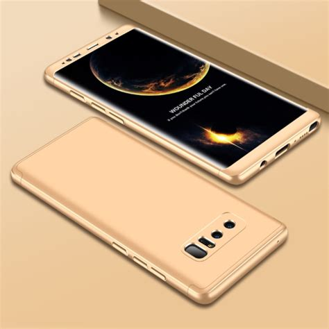 360 Samsung Note 8 gkk for samsung galaxy note 8 pc 360 degrees coverage protective back cover glod