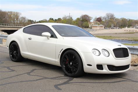 matte white bentley 2008 bentley continental gt speed quot white matte wrap