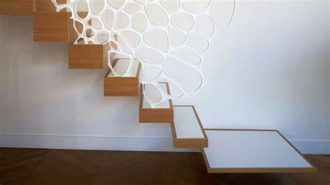 Corian Handrail by Corian Handrail By Marc Fornes