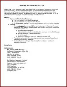 resume references exle sle resume reference section buy term papers