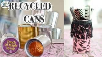 Diy recycled tin can craft mixed media thecreativelady youtube