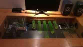 computer im tisch eigenbau bu harry pc im tisch