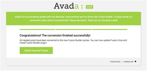 avada theme backup converting fusion builder pages theme fusion