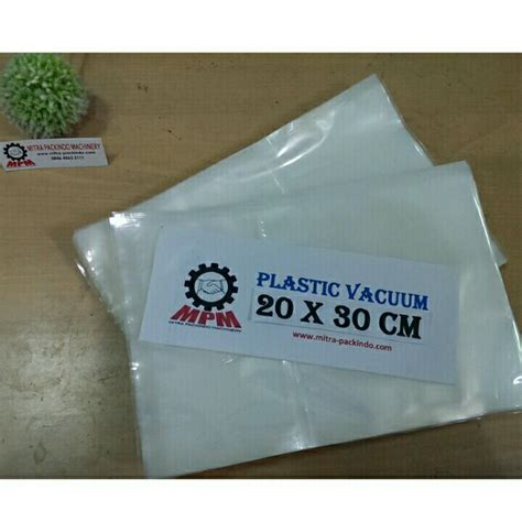 Plastik Vacuum 20x30cm Plastik Vacuum Bag Plastik Sealer jual plastik vacuum 20 x 30 cm vacum bag plastic vakum sealer mpmachinery