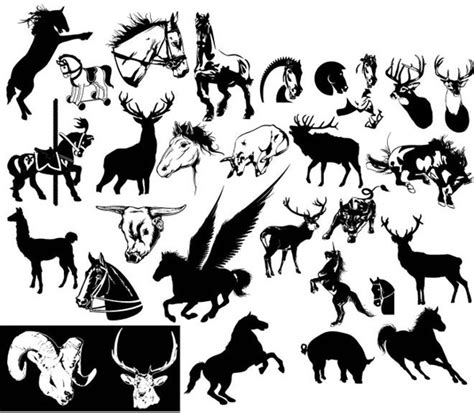 tattoo animal vector forest animal tattoo vector free vector in encapsulated