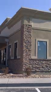 building color schemes exterior of stone and stucco offices buildings stucco tech all american dr jolley s office pg