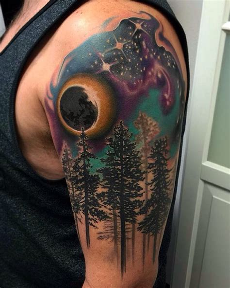 night sky tattoo sky tattoos sky tattoos and skies on