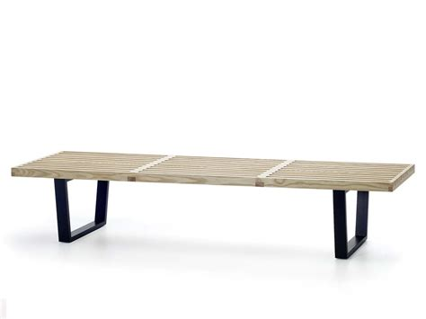 buy the vitra nelson bench at nest co uk