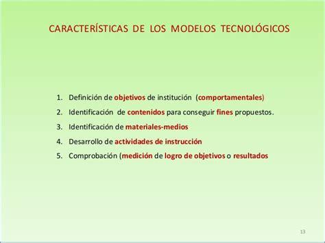 Modelos Curriculares Definicion Modelos Curriculares