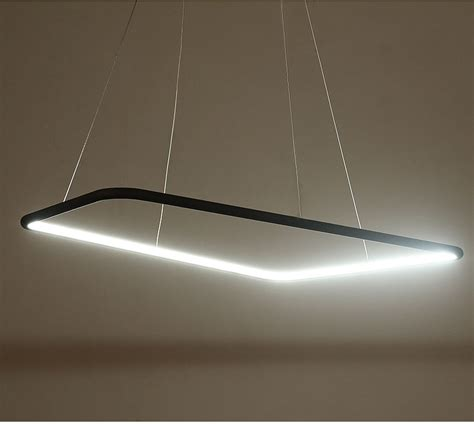 Pendant Led Lighting Quot Quadrate Quot Modern Led Pendant Light Modern Place