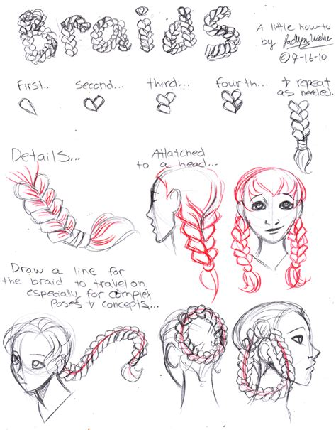 how to do doodle braids braids by drmistytang on deviantart