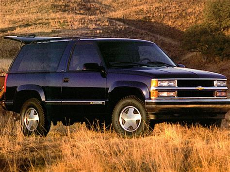 where to buy car manuals 1998 chevrolet tahoe seat position control 1998 chevrolet tahoe overview cars com