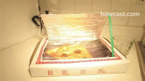 How To Make A Pizza Box Out Of Paper - how to turn a pizza box into a solar oven