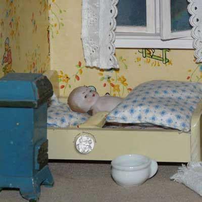 schlafzimmer 20er jahre vitrinen puppenhaus mit gr 252 nderzeit deco m 246 beln und