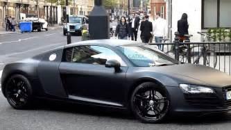 Audi R8 Matte Matte Black Audi R8