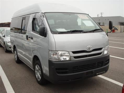 Toyota Hiace 2008 2008 Toyota Hiace Pictures 2 0l Gasoline Fr Or Rr