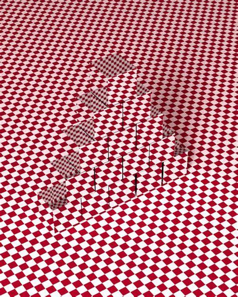 3d optical 3d cubes optical illusions xcitefun net