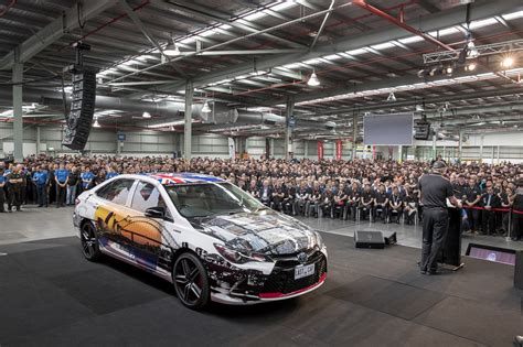 toyota manufacturing toyota australia ends 54 years of local manufacturing
