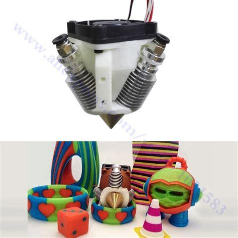 Hotend Color Multi Extruder 3d Printer Reprap 3d Printer Hotend Multi Color End 3 In