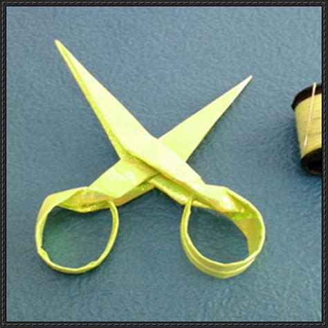 Origami Scissors - papercraftsquare new paper craft origami scissors