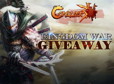 Conquer Online Giveaway - conquer online kingdom war pack giveaway promo codes