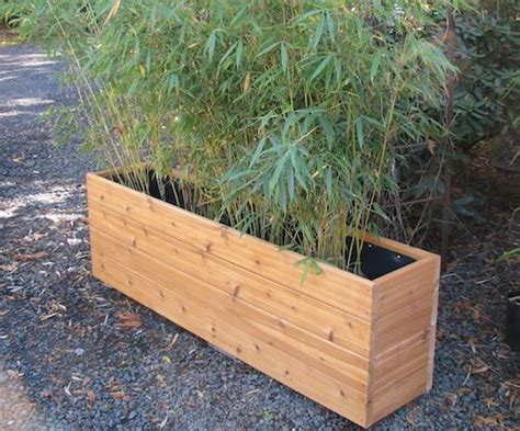 narrow planters 72 inch narrow planter box garden 1