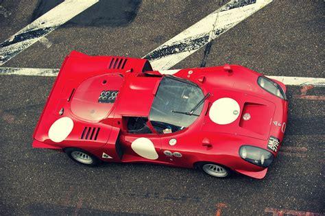 vintage alfa romeo race cars 1968 alfa romeo tipo 33 2 daytona silodrome cars