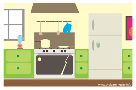 Lovely Church Furniture For Free #4: Flashcard-parts-of-a-house-kitchen-01.jpg