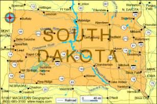 South Dakota State Map by Atlas South Dakota