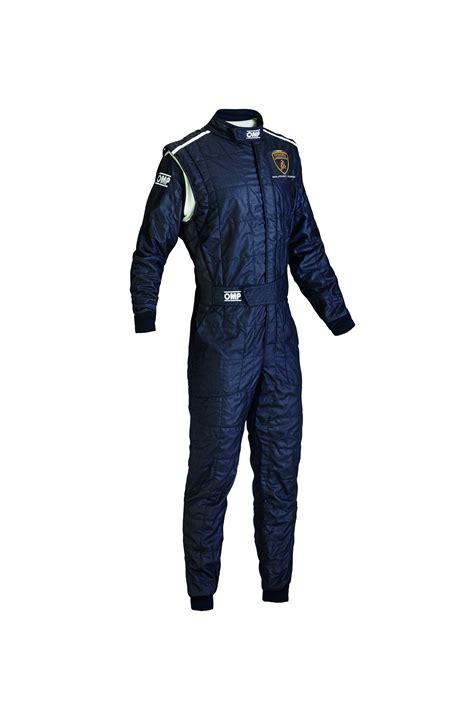 lamborghini suit blue one s omp professional racing suit by lamborghini