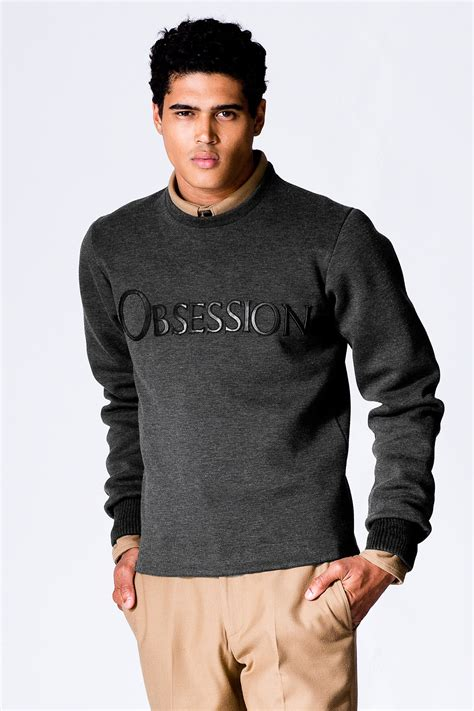 Calvin Klein Gift Card Balance - calvin klein collection obsession logo sweatshirt men calvin klein collection usa