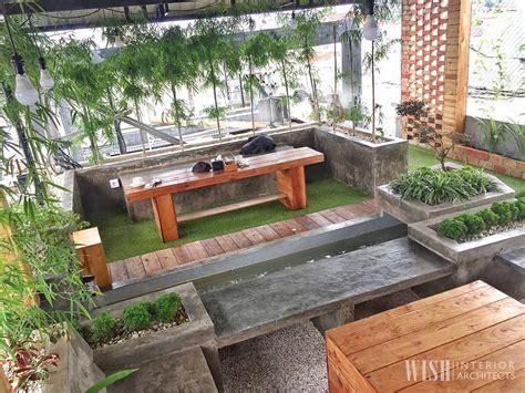 desain rumah atap rooftop prince desain rooftop garden minimalis v karya wish interior