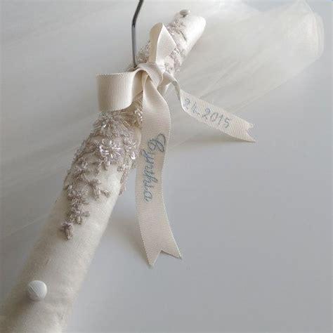 Wedding Dress Hanger by Personalized Wedding Hanger Wedding Dress Hanger Lace