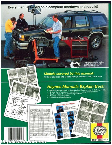 service repair manual free download 1991 mazda navajo interior lighting used ford explorer mazda navajo mercury mountaineer automotive repair manual 1991 1995 haynes