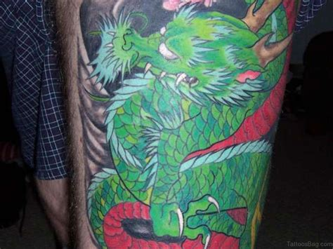green dragon tattoo 35 gorgeous tattoos for thigh