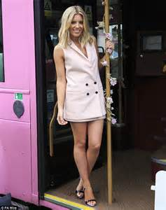 Mollie king looks sensational in tailored blazer dress for magnum ad