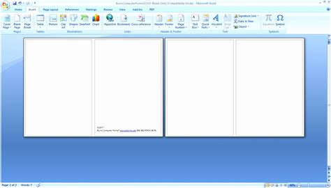 Free Calling Card Templates Microsoft Word by 8 Business Card Template Word Free Iwupw