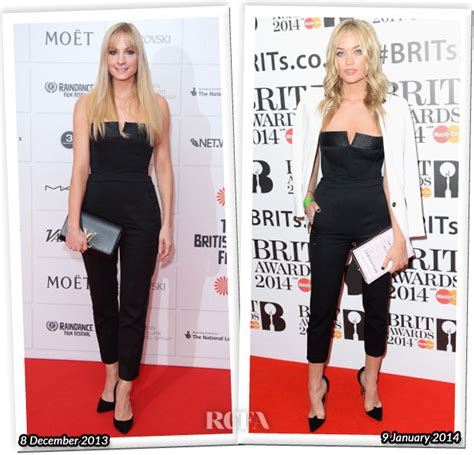 Who Wore Better Carpet Style Awards by Joanne Froggatt Carpet Fashion Awards